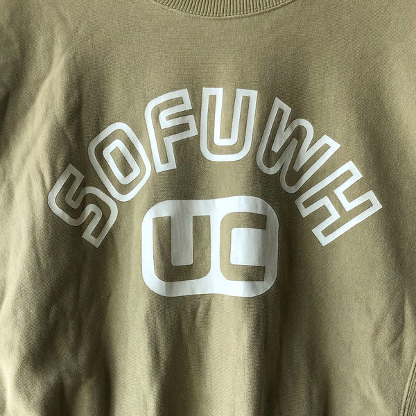 "Undercover Crewneck Sweatshirt ""SOFUWH"" - SS96 ""Under the Cover"""