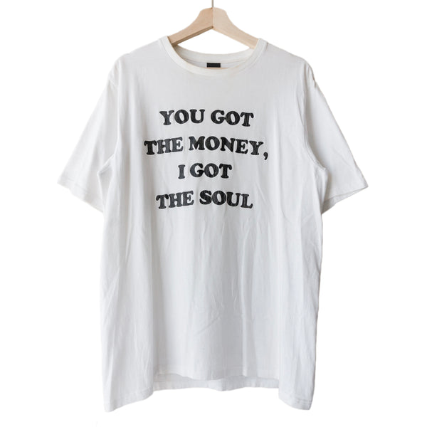 "Number (N)ine ""You Got the Money, I Got the Soul"" Tee"