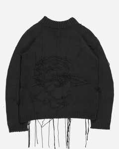 "Raf Simons ""Radioactivity"" Spider Knit Sweater - AW98 ""Radioactivity"""
