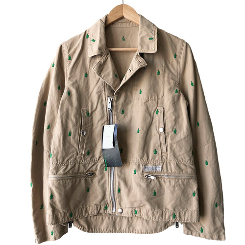 Undercover Middle Finger Cotton Perfecto Jacket - SS13