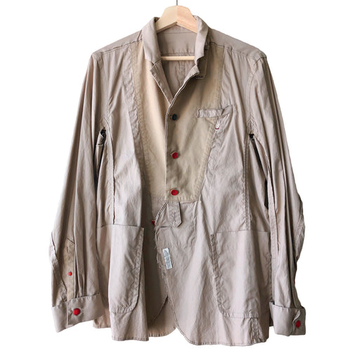 Undercover Middle Finger Shirt Jacket - SS13