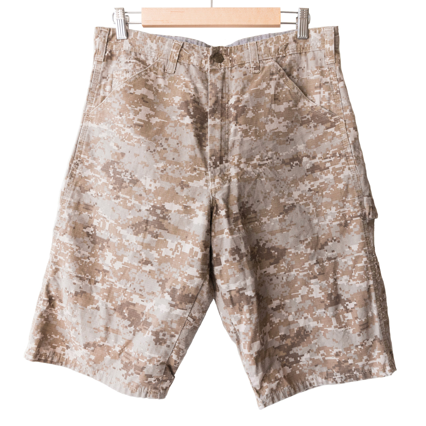 Needles Sportswear Tan Digital Camo Shorts