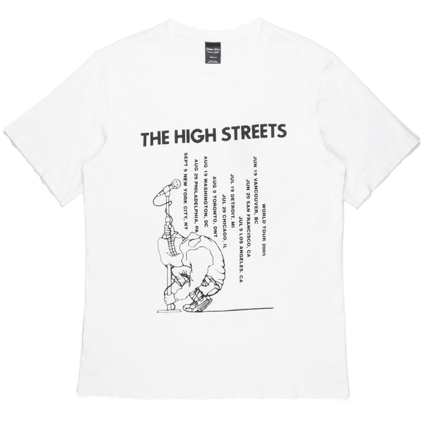 "Number (N)ine White ""The High Streets"" Tee - AW05 ""The High Streets"""