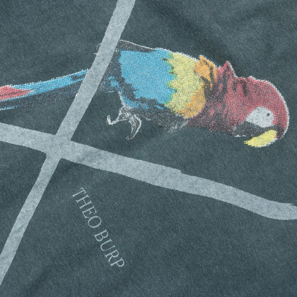 "Undercover ""Theo Burp Parrot"" Cut & Sew Flannel - SS06 ""T"""