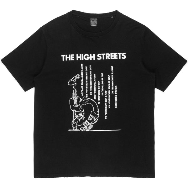 "Number (N)ine Black ""The High Streets"" Tee - AW05 ""The High Streets"""