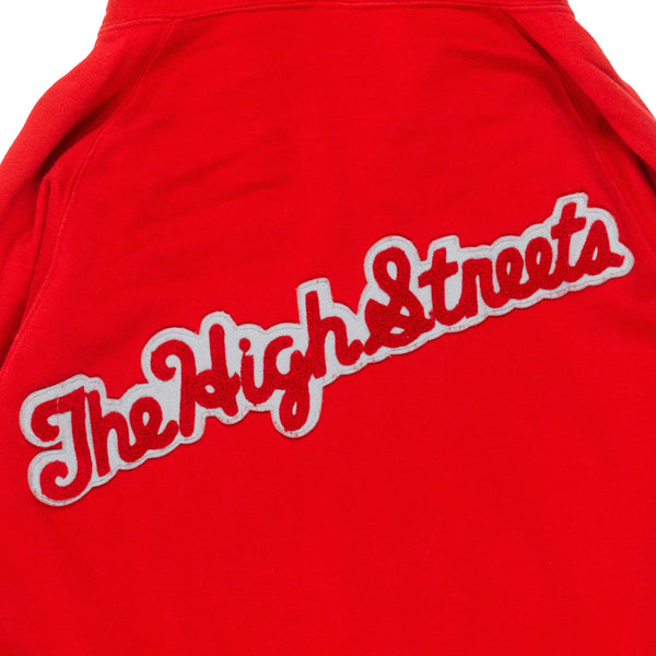 "Number (N)ine ""The High Streets"" Red Hoodie - AW05 ""The High Streets"""