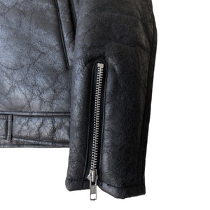 "Undercover Cracked Shearling Jacket - AW02 ""Witch's Cell Division"""