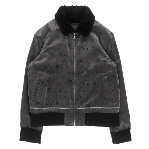 Undercover Velour Shearling Jacket - AW02
