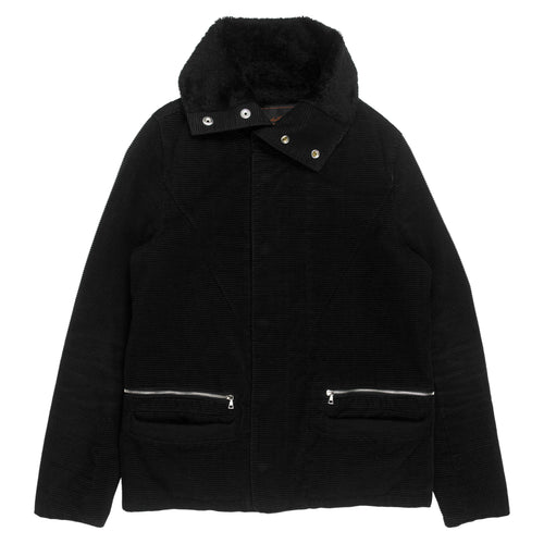 Undercover Horizontal Corduroy Shearling Jacket - AW05