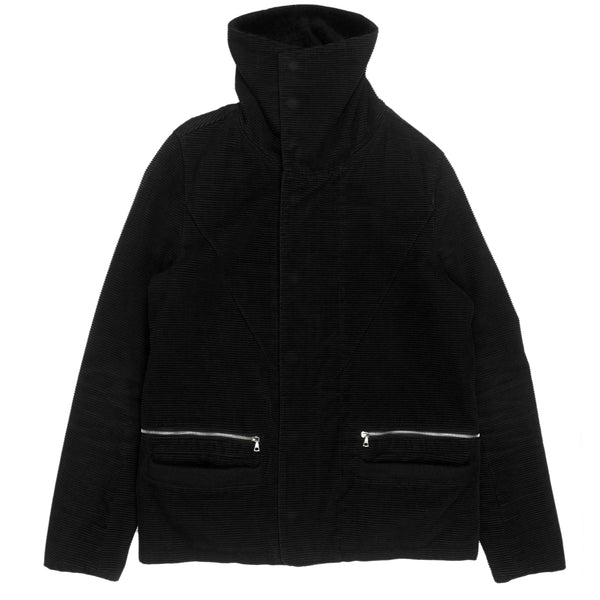 "Undercover Horizontal Corduroy Shearling Jacket - AW05 ""Arts and Crafts"""