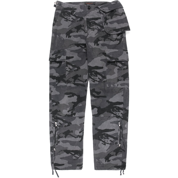 "Undercover Bush Bin Laden Camo Cargo Trousers - AW03 ""Paperdoll"""