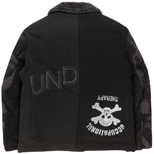 "Undercover ""UISM"" Dog Camo Deck Jacket - AW03 ""Paperdoll"""