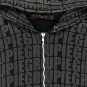 "Undercover ""Groupie"" Zip Up Hoodie - AW02 ""Witch's Cell Division"""