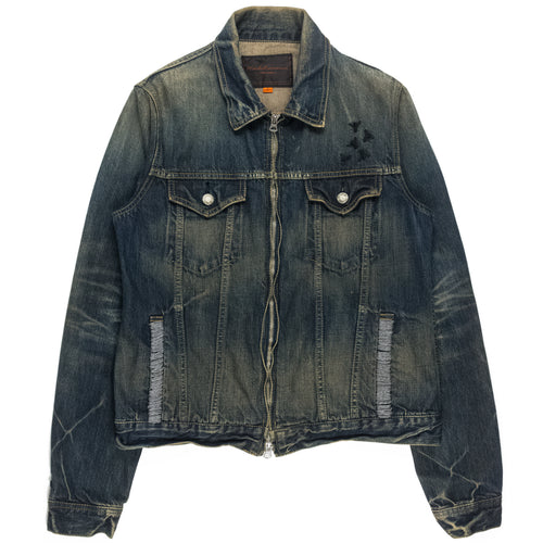 Undercover Insect Denim Trucker Jacket - AW06