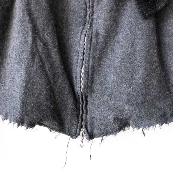 Undercover Scarf Frayed Jacket - AW06