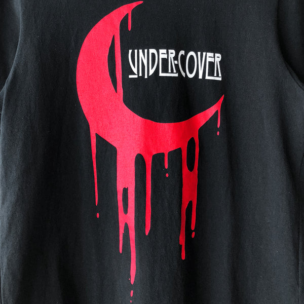 "Undercover Blood Crescent Moon Tee - SS17 ""Improvisation Concepts"""