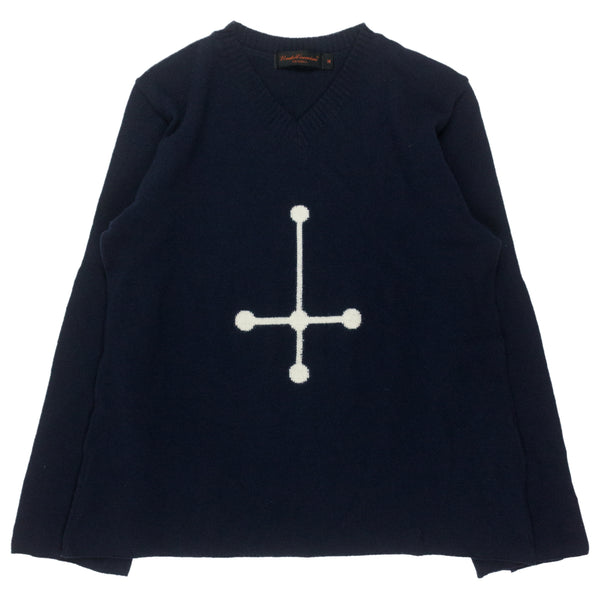 "Undercover Cross Sweater - AW02 ""Witch's Cell Division"""
