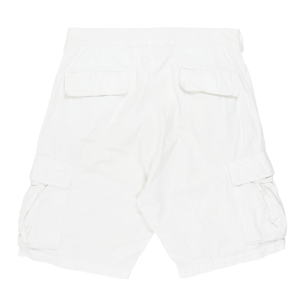 "Undercover White Netted Cargo Shorts - SS06 ""T"""
