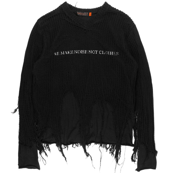 "Undercover One-Off Netted Longsleeve Tee - SS06 ""T"""