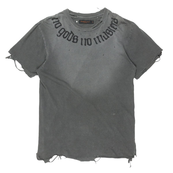 "Undercover ""No Gods No Masters"" Tee - SS03 ""Scab"""