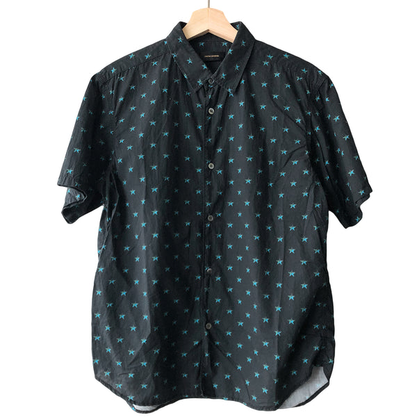 "Undercover Star Button Up - SS14 ""GODOG"""