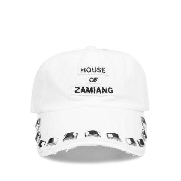 "Undercover ""House of Zamiang"" Studded Cap - SS06 ""T"""