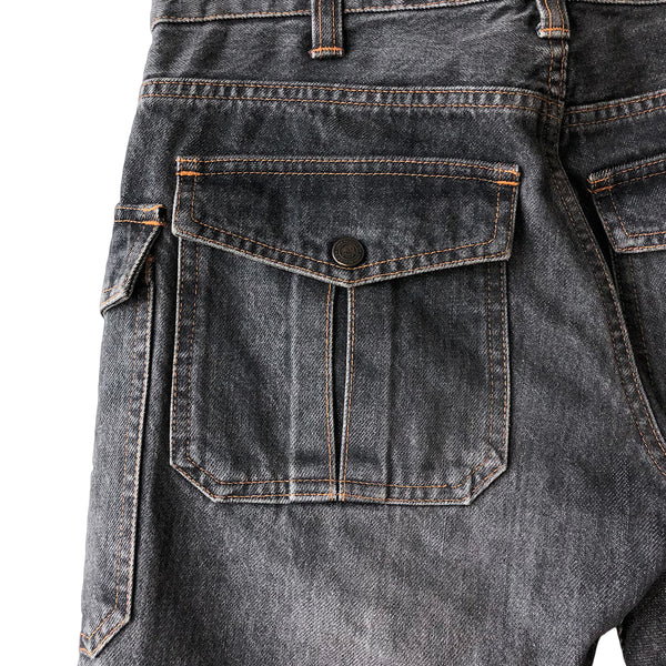 "Undercover Undercoverism Black Cargo Denim - AW03 ""Paper Doll"""