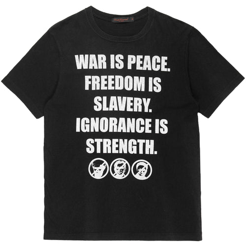 "Undercover ""War Is Peace"" 1984 Tee - SS03 ""Scab"""