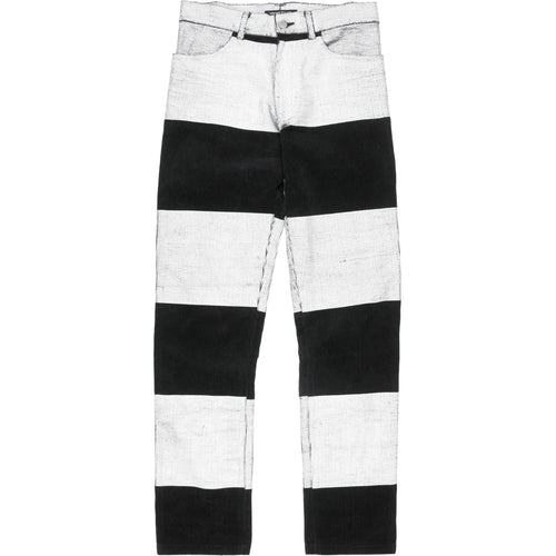 Undercover Painted Corduroy Prisoner Jeans - AW96