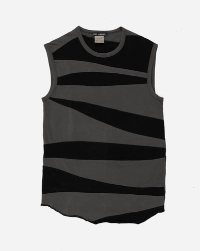 Raf Simons Slash-Paneled Sleeveless-Top - SS97