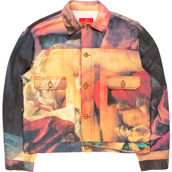 "Vivienne Westwood ""Hercules and Omphale"" Trucker Jacket - AW93 ""Anglomania"""