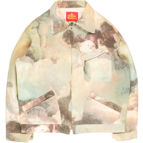"Vivienne Westwood ""Swarm of Cupids"" Trucker Jacket - AW91"