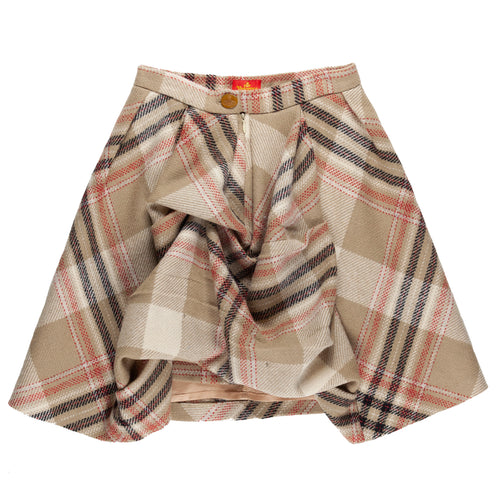 "Vivienne Westwood Plaid Pleated Skirt - AW94 ""On Liberty"""