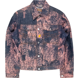 Walter van Beirendonck / W&LT Shave Your Jeans Denim Jacket
