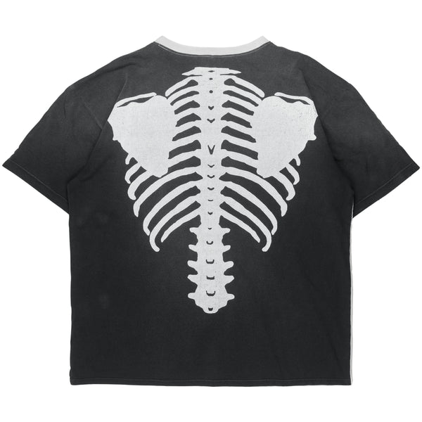 Kapital Kountry Redux Skeleton Oversized Split Tee