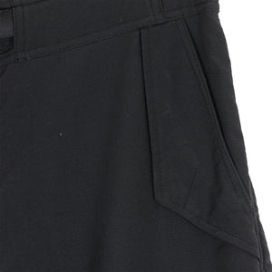 White Mountaineering Blk Nylon Cargo Shorts - SS11