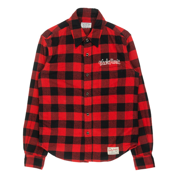 "Wacko Maria Red ""Drunkard's Dream Rock Steady"" Flannel"