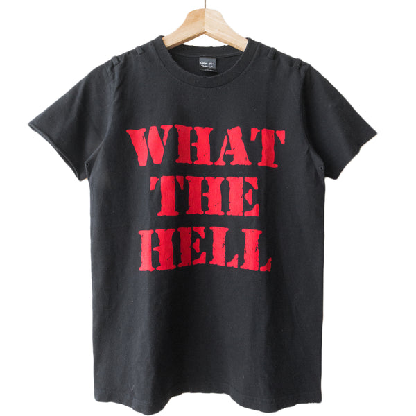 "Number (N)ine ""What The Hell"" Tee - SS06 ""Welcome to the Shadow"""