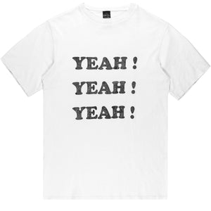 "Number (N)ine ""Yeah Yeah Yeah"" Tee - SSAW03 ""Touch Me I'm Sick"""