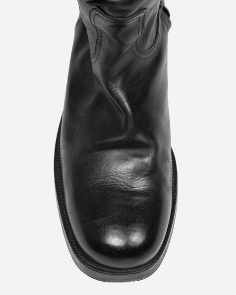 Maison Margiela Square Toe Riding Boots