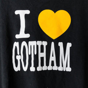 Number (N)ine Black/Yellow I Love Gotham Tee