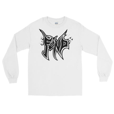 Designed by Jamie from Twiztid for the FEND movement - long sleeve black logo
