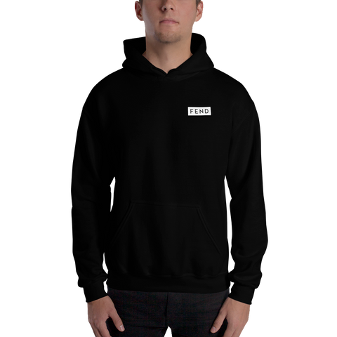 FEND movement capitalism Hoodie front