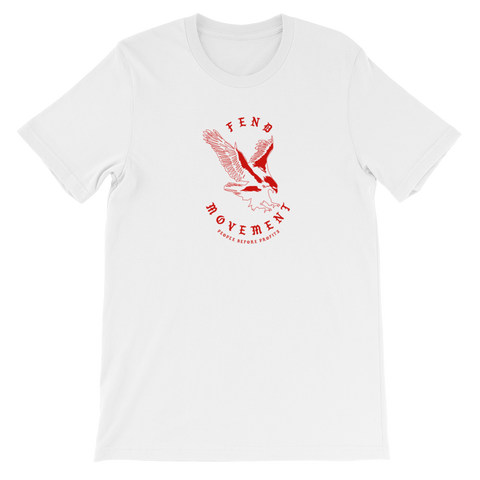 FEND Eagle T-shirt white