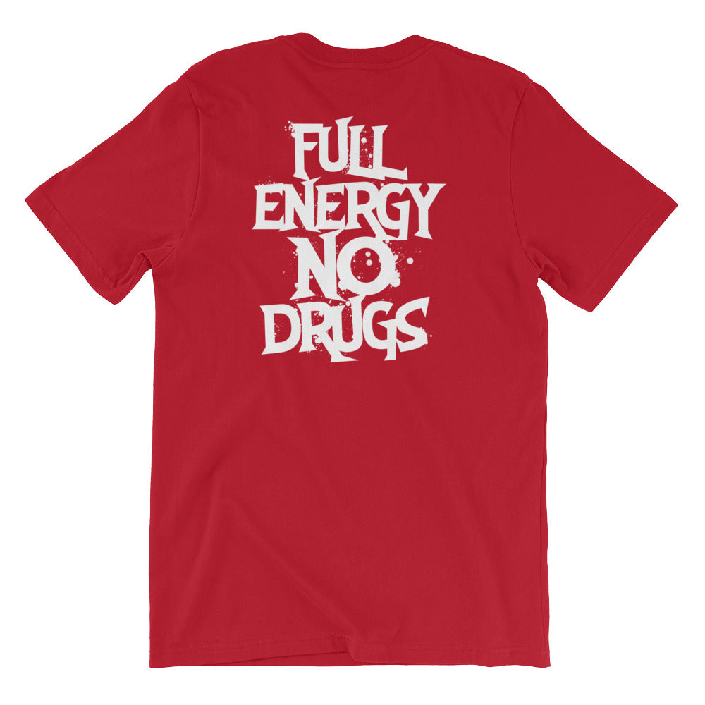FEND full energy no drugs t-shirt as designed by twiztid back view