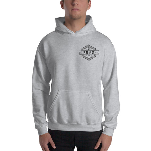 FEND evolution hoodie - front view