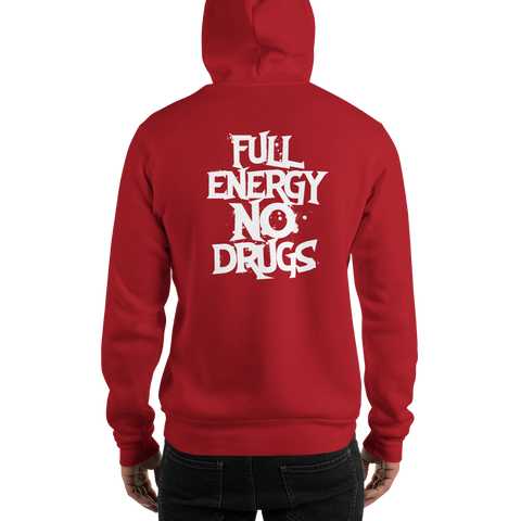 FEND x Twiztid as designed by Jamie Madrox - full energy no drugs hoodie