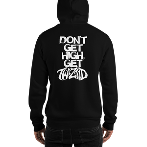 FEND x Twiztid don't get high get twiztid hoodie back view
