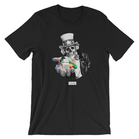 FEND Capitalism T-shirt - Black