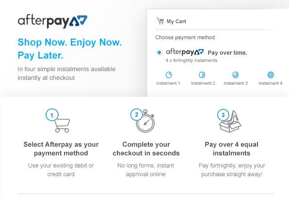 Afterpay - Buy Now - Take Now - Pay Later